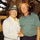 Jack Nicklaus and Gene Sarazen Great Photo Masters