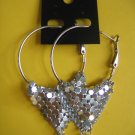 =NEW= Fashion Earrings For Ladies: Siver tone metal