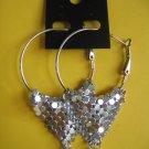 =NEW= Fashion Earrings For Ladies: Siver tone metal