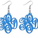 Monogram Earrings Acrylic Earrings