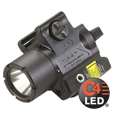 Streamlight TLR-4, Compact Rail Mounted Tactical Light with Laser Sight - 69240