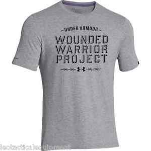 Under Armour 1253508 Men's WWP Barbed Wire Short Sleeve T-Shirt - Gray or Green