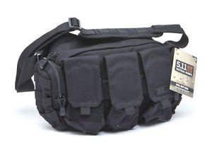 5.11 Tactical 56026-019 Police Bail Out Bag Black Mag Pockets Hold 6 Mags