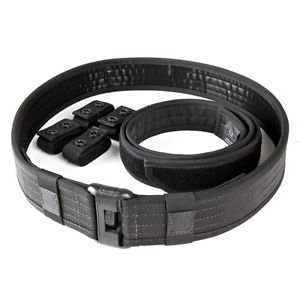 5.11 Tactical Sierra Bravo Duty Belt Kit Black Large (36-38-Inch Waist)