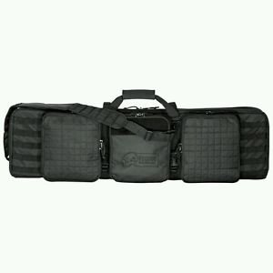 "VOODOO TACTICAL Voodoo 42"" Deluxe Padded Weapon Case w/Locks, Black"