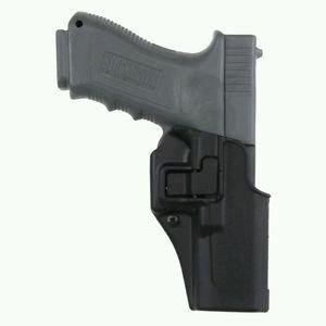 New! Blackhawk SERPA CQC Holster Glock 17/22/31, Matte Black, Right 410500BK-R