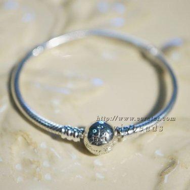 2015 NEW 925 Sterling Silver Disney clip charm Bracelet