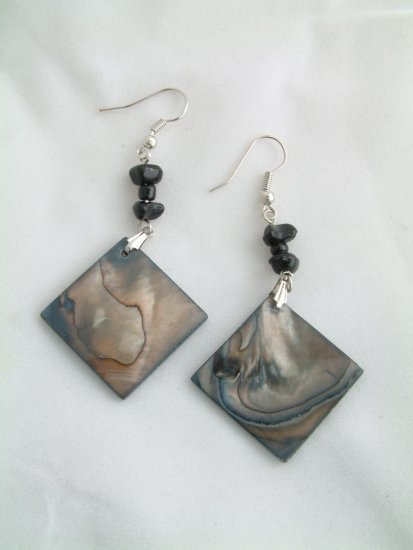 Genuine Shell Dangle Earrings