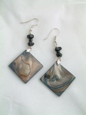 Genuine Shell Dangle Earrings