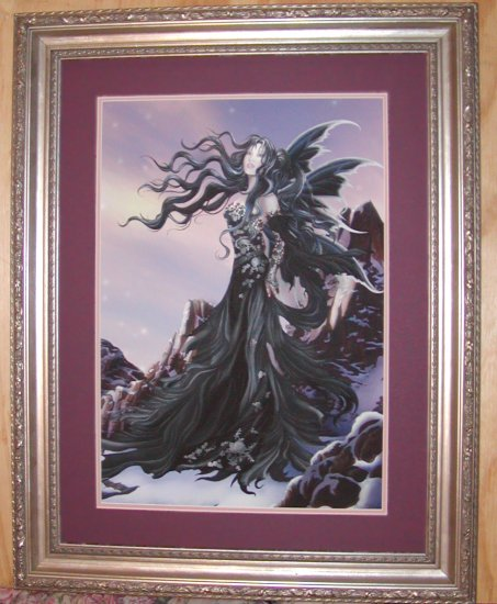 Aria by Nene Thomas LE Double Matted and Framed