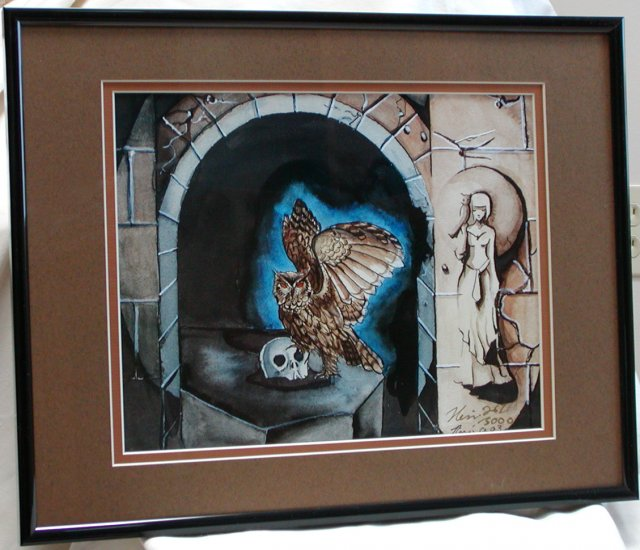 Nene Thomas Necropolis LE Double Matted & Framed