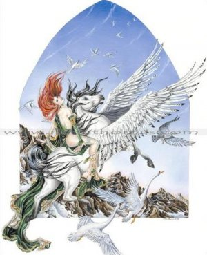 Nene Thomas Faery of Flight Limited Edition Print