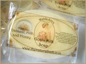 Oatmeal, Milk & Honey Goats Milk Soap