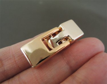 Finding - 1 Set Rose Gold Plastic Toggle Clasp 7mm X 2.5mm