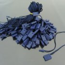 100pcs Navy Blue Hang Tag String with Plastic Fastener