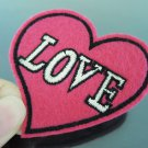 Love Patches Iron On Patch Applique Embroidered Patch Sew On Patch
