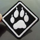 Paw Patches Iron On Patch Applique Embroidered Patch Sew On Patch