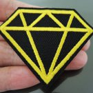 Diamond Patches Iron On Patch Applique Embroidered Patch Sew On Patch