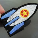 Rocket Patches Iron On Patch Applique Embroidered Patch Sew On Patch