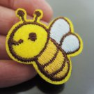 Little Bee Iron On Patch Applique Embroidered Patch Sew On Patch