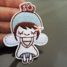Cute Little Girl Patches Iron On Patch Applique Embroidered Patch Sew On Patch