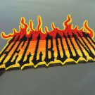 Hell Bound Fire Patches Iron On Patch Applique Embroidered Patch Sew On Patch