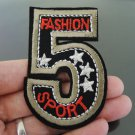 Five Patches Iron On Patch Applique Embroidered Patch Sew On Patch