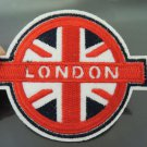 United Kingdom Country Flag London Patches Iron On Patch Applique Embroidered Patch Sew On Patch