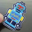 Robot Patches Iron On Patch Applique Embroidered Patch Sew On Patch