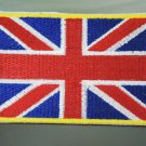 United Kingdom Flag Country Patches Iron On Patch Applique Embroidered Patch Sew On Patch