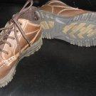 ARIZONA JEAN CO * Boys shoes sz 4 brown ankle high BOOT