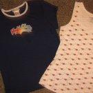 MUDD & TILT * Girls sz 14 MEDIUM sleepwear pajama SHIRTS tank top