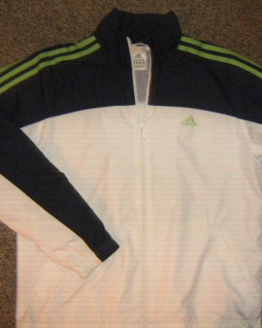 ADIDAS * Womens sz MEDIUM Tennis Athletes Sports Jacket coat