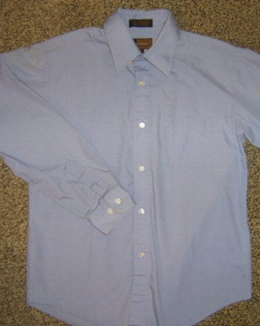 METRO CONCEPTS * Boys sz 12 blue dress SHIRT
