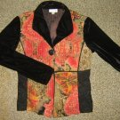 COLDWATER CREEK* Womens sz SMALL Blazer Sweater Jacket