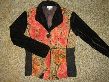 COLDWATER CREEK* Womens sz SMALL Blazer Sweater Jacket