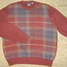 ARROW * Mens sz LARGE casual cotton SWEATER Shirt