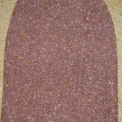 ANN TAYLOR * Womens Career Collection sz 4 maroon wool tweed Skirt