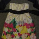 TWENTYONE * Womens sz SMALL Colorful strapless party Dress