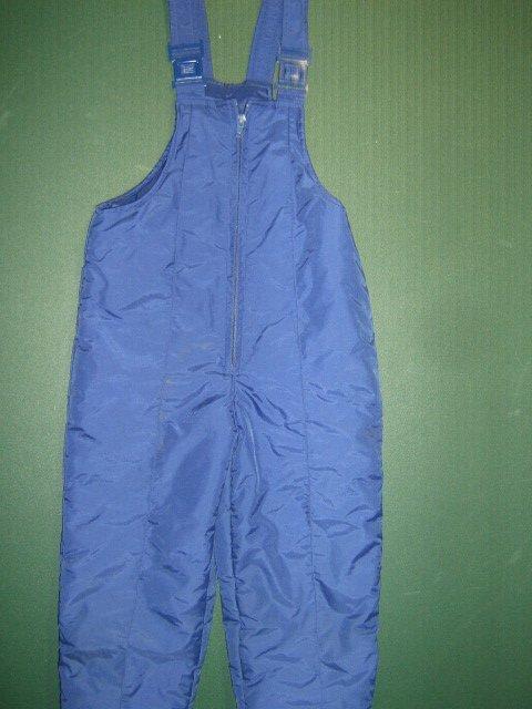 Apparatus Boys or Girls sz 4 X small XS insulated navy blue ski snow pants