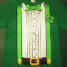 NWTS * DELTA * Mens Large L Irish green 100% cotton tee SHIRT St. Patricks Day