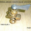 IMPERIAL 3 WAYS BRASS 1/4&#39;&#39;X1/4&#39;&#39;X1/4&#39;&#39;