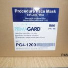 PROCEDURE FACE MASK PRIMAGARD EAR LOOP PG4-1200 BLUE EAR LOOP/BLUE