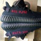 Yeezy boost 350 v2 black/ red