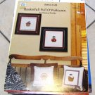 """BASKETFULL O'YORKTOWN"" COUNTED CROSS STITCH PATTERNS LAMB FLOWERS BUNNY MORE 380812954041"