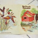 It's Duck Season  by Gloria & Pat  CROSS STITCH PATTERN LEAFLET 6 GREAT DESIGNS 380461199318