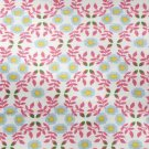 BTY PINK BLUE FLORAL CALICO WINDHAM REPRO COTTON FABRIC