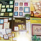 5 QUOTES, SAMPLERS, WALL HANGINGS  MORE CROSS STITCH PATTERN BOOKLETS