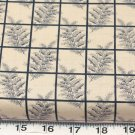 BTY BLUE FLORAL BLUE HILLS CIVIL WAR COTTON FABRIC