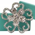 Bridal Crystal Vintage Brooch CN57C